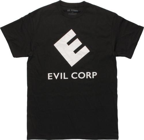 Mr Robot Evil Corp Logo T-Shirt