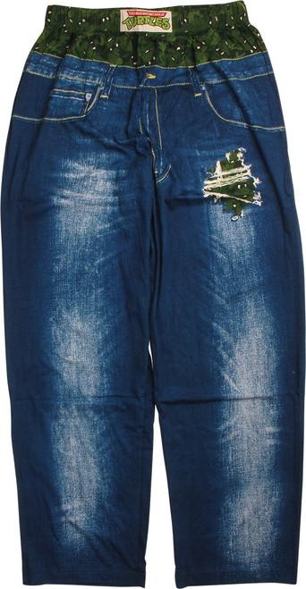 Ninja Turtles Ripped Jeans Look Lounge Pants
