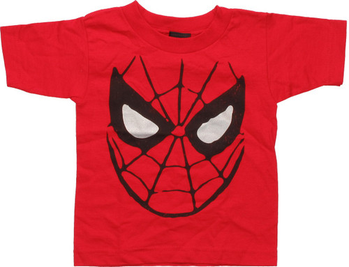 Spiderman Foiled Eyes Mask Toddler T-Shirt