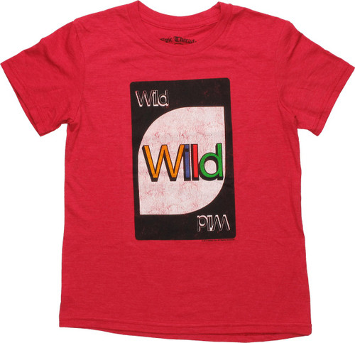Uno Wild Card Red Youth T-Shirt