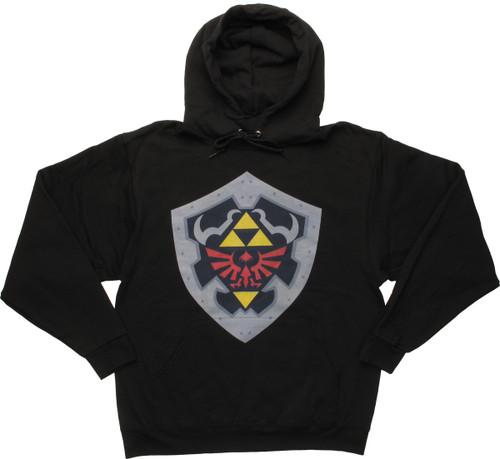 Zelda Hylian Shield Pullover Hoodie