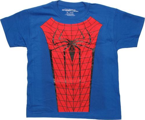 Amazing Spiderman Costume Youth T-Shirt