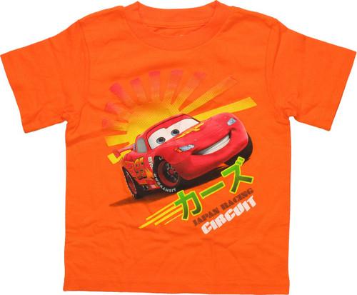 Cars Japan Racing Circuit Toddler T-Shirt