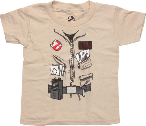 ce7059708 Ghostbusters Venkman Costume Toddler T-Shirt