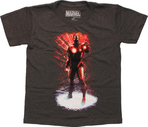 iron man t shirt glow