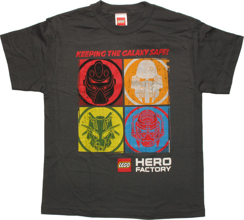 Lego Hero Factory Four Squares Youth T-Shirt
