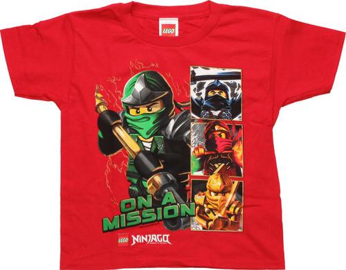 Lego Ninjago T-Shirt Spinjitzu Pocket Ninjago Ninja Boys Kids T-Shirt