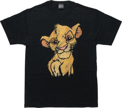 Lion King Chalk Simba T-Shirt
