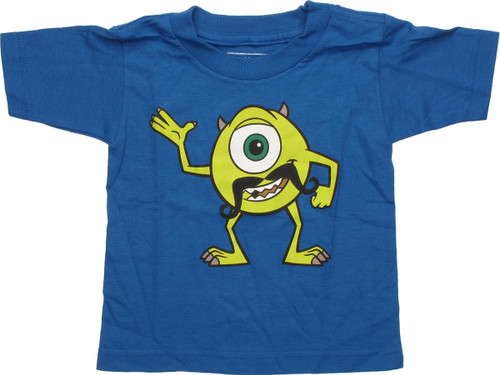 ad8b99f7 Monsters Inc Mike with Mustache Toddler T-Shirt