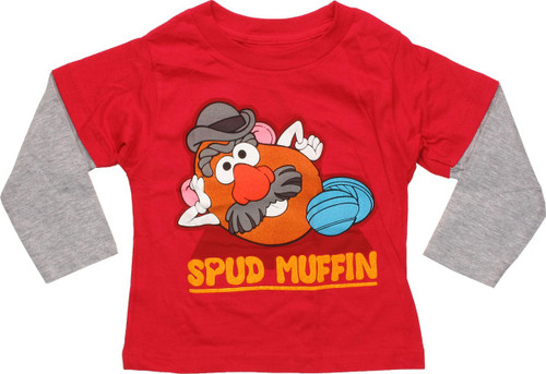 Mr Potato Head Spud Muffin LS Infant T-Shirt
