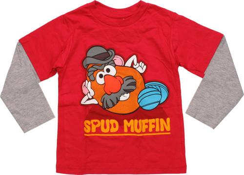 Mr Potato Head Spud Muffin LS Toddler T-Shirt