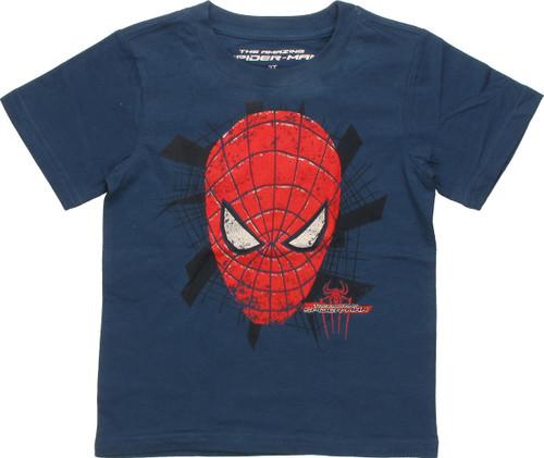 Spiderman Mask I Fight Bad Guys Toddler T-Shirt