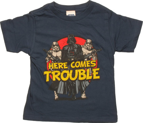 Star Wars Empire Here Comes Trouble Toddler Shirt