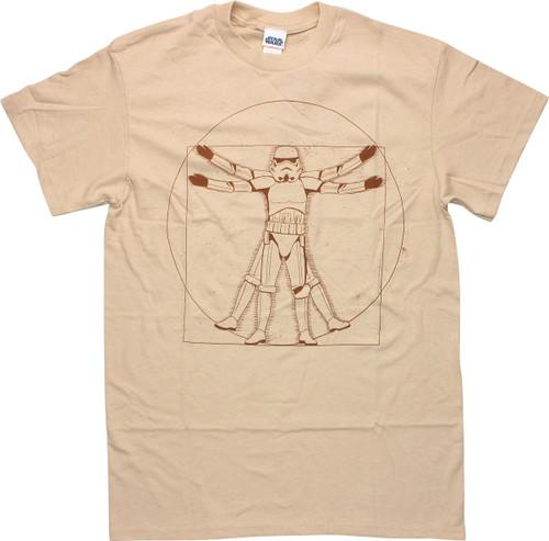 Star Wars Vitruvian Stormtrooper T-Shirt