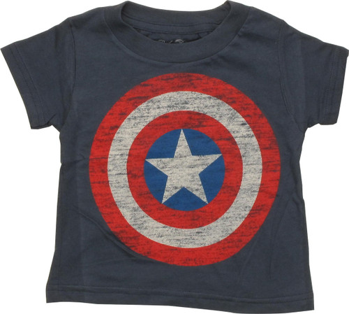 Captain America Distressed Shield Infant T-Shirt