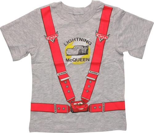 Cars Lightning McQueen Harness Toddler T-Shirt