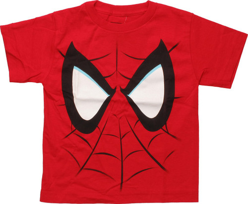 Spiderman Face Youth T-Shirt