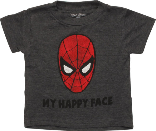Spiderman My Happy Face Toddler T-Shirt