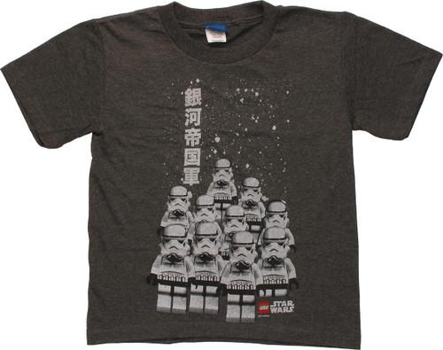 Star Wars Lego Troopers Japanese Juvenile T-Shirt