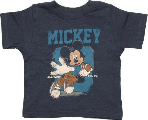 Mickey Mouse Football Reversible Infant T-Shirt