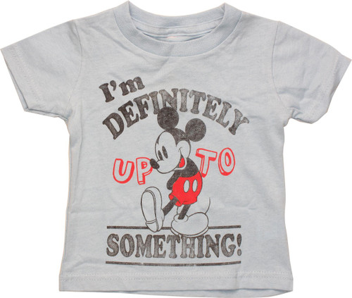 Mickey Mouse Up To Something Infant T-Shirt