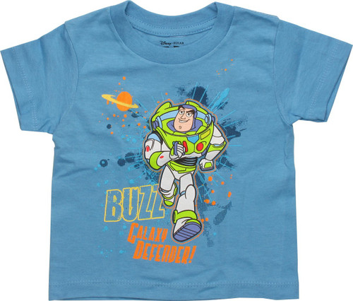 Toy Story Buzz Galaxy Defender Blue Toddler Shirt