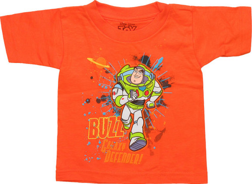 Toy Story Galaxy Defender Orange Toddler T-Shirt