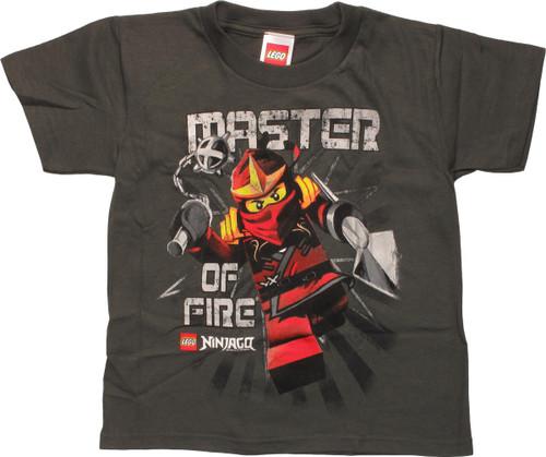 Lego Ninjago Master of Fire Juvenile T-Shirt