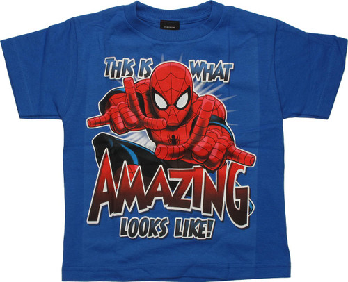 Spiderman Amazing Looks Like Juvenile T-Shirt