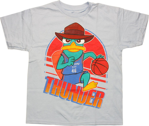 Phineas and Ferb Perry Thunder Youth T-Shirt