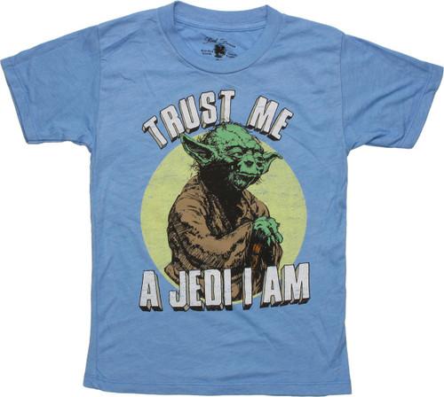 Yoda Trust Me Im A Jedi Master I am Men/'s T-Shirt Size Medium Star Wars
