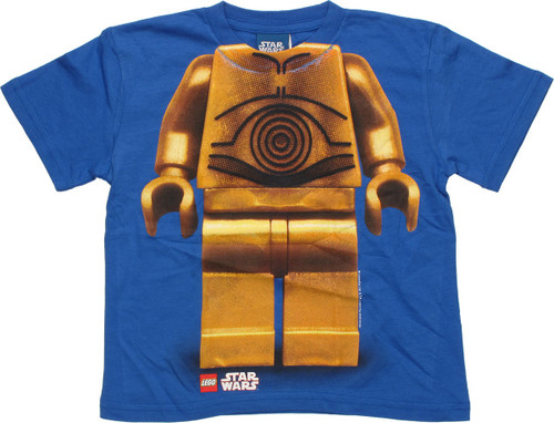 Star Wars Lego C-3PO Body Juvenile T-Shirt