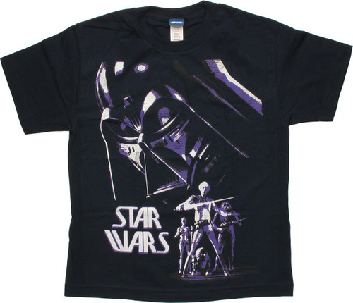 Star Wars Concept Art Poster Youth T-Shirt
