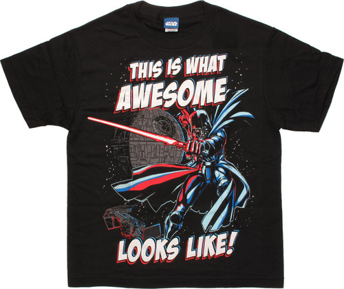 Star War This is What Awesome Looks Youth T-Shirt