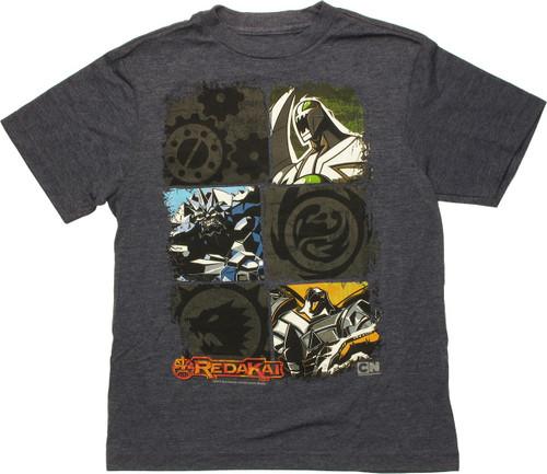 Redakai Monsters and Symbols Navy Youth T-Shirt