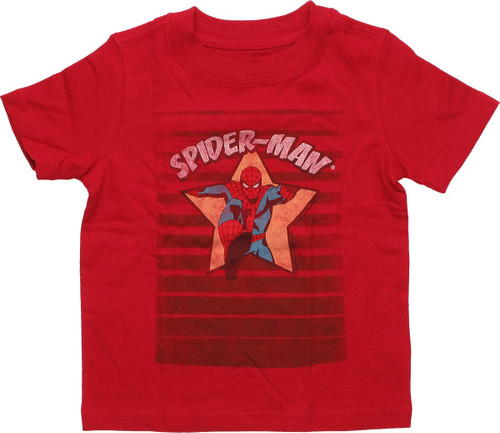 Spiderman Coming Through Star Infant T-Shirt