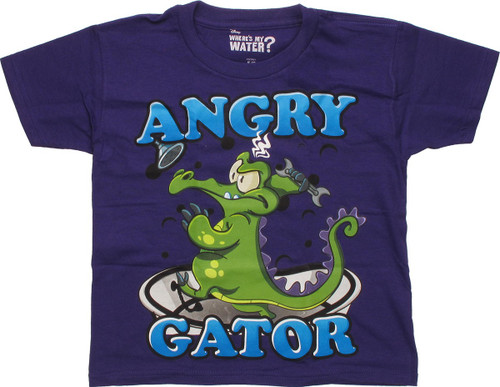 Where's My Water Angry Gator Juvenile T-Shirt
