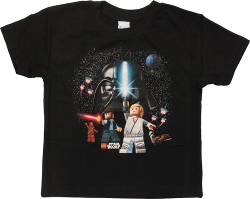 Star Wars Lego Heroes Space Scene Toddler T-Shirt
