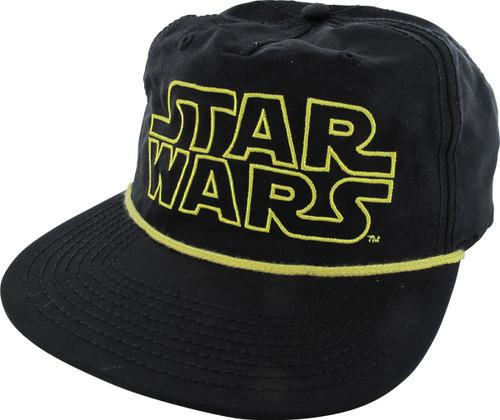Star Wars Embroidered Logo Snapback Hat