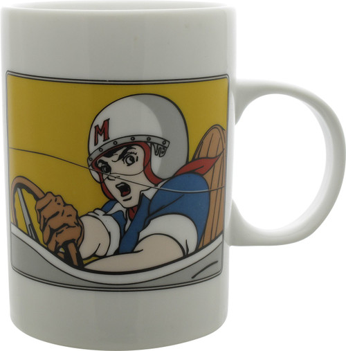 Speed Racer Go Mifune White Mug