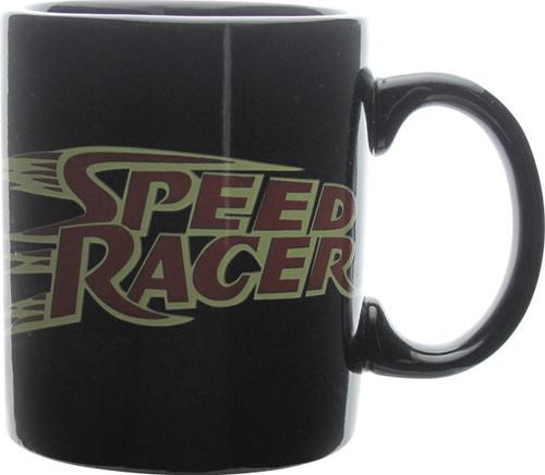 Speed Racer Name Black Mug