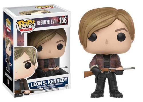 Resident Evil Leon Kennedy Vinyl Pop Figurine