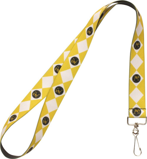 Power Rangers Yellow Ranger Saber Tooth Lanyard