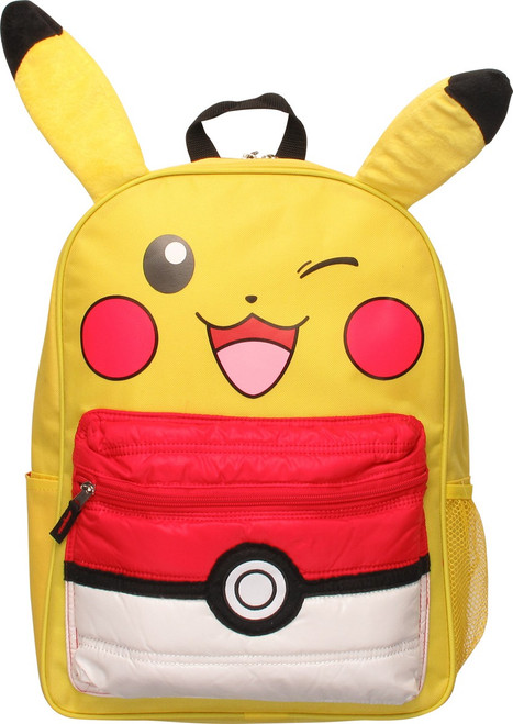 9d69bfcac Pokemon Pikachu Wink Long Ears Backpack backpack-pokemon-pikachu-wink-ears