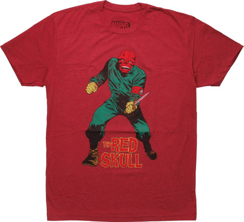 Hydra Red Skull Ready To Fight T-Shirt