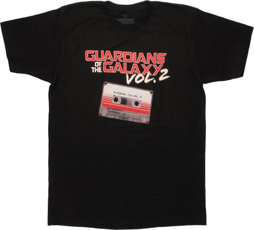 Guardians of the Galaxy Vol 2 Mix Tape T-Shirt