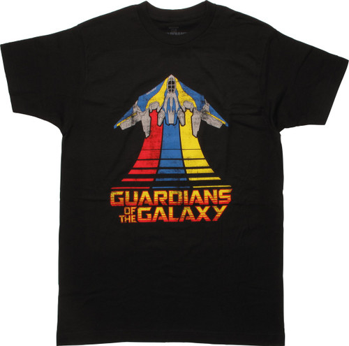 Guardians of the Galaxy 2 Milano Flying T-Shirt