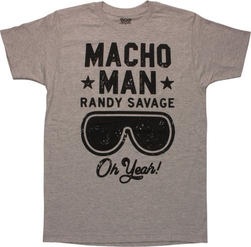 WWE Macho Man Randy Savage Oh Yeah T-Shirt
