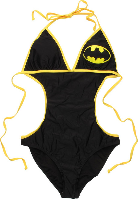 Batman Triangle Monokini Swimsuit