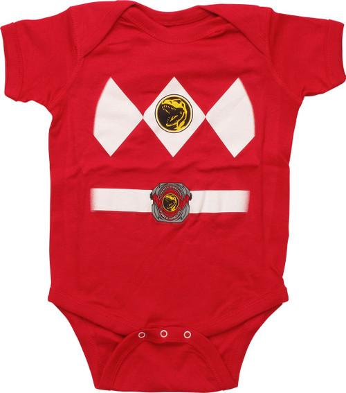 Power Rangers Red Ranger Snap Suit
